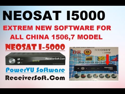 NEOSAT I5000 EXTREAM 4K NEW SOFTWARE FOR ALL MODELS / BY DISH MASTER
