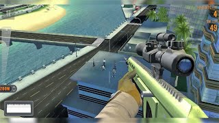 Sniper 3D: Fun Free Online FPS Shooting Game Android Gameplay #8 #DroidCheatGaming screenshot 1