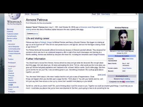 Annora Petrova | Creepypasta