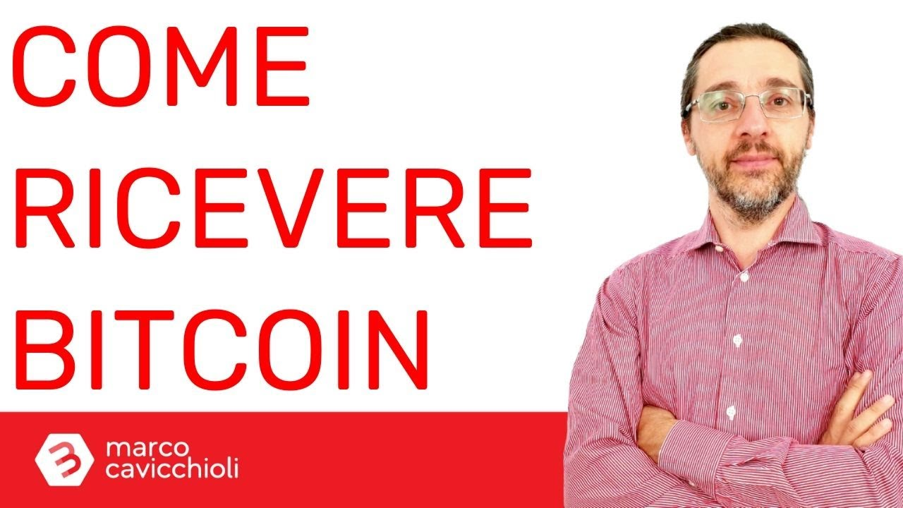 ricevere bitcoin)