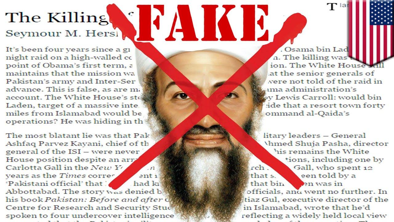 Las mentiras sobre la muerte de Bin Laden salen a la luz