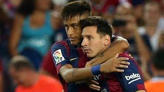 FC Barcelona vs Club León 6-0 Resumen y Goles 18.08.2014 Trofeu Joan Gamper