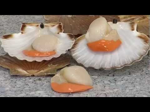 How To Prepare Scallops Youtube