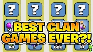 THE BEST CLAN GAMES EVER?! + HUGE MINER LOOT! - Clash of Clans