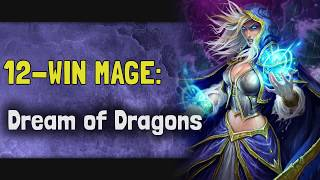 Hearthstone Arena - Taverns of Time - 12-Win Mage: Dreams of Dragons