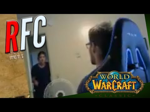 20+ Year Old WOW Streamer Rages At Mom