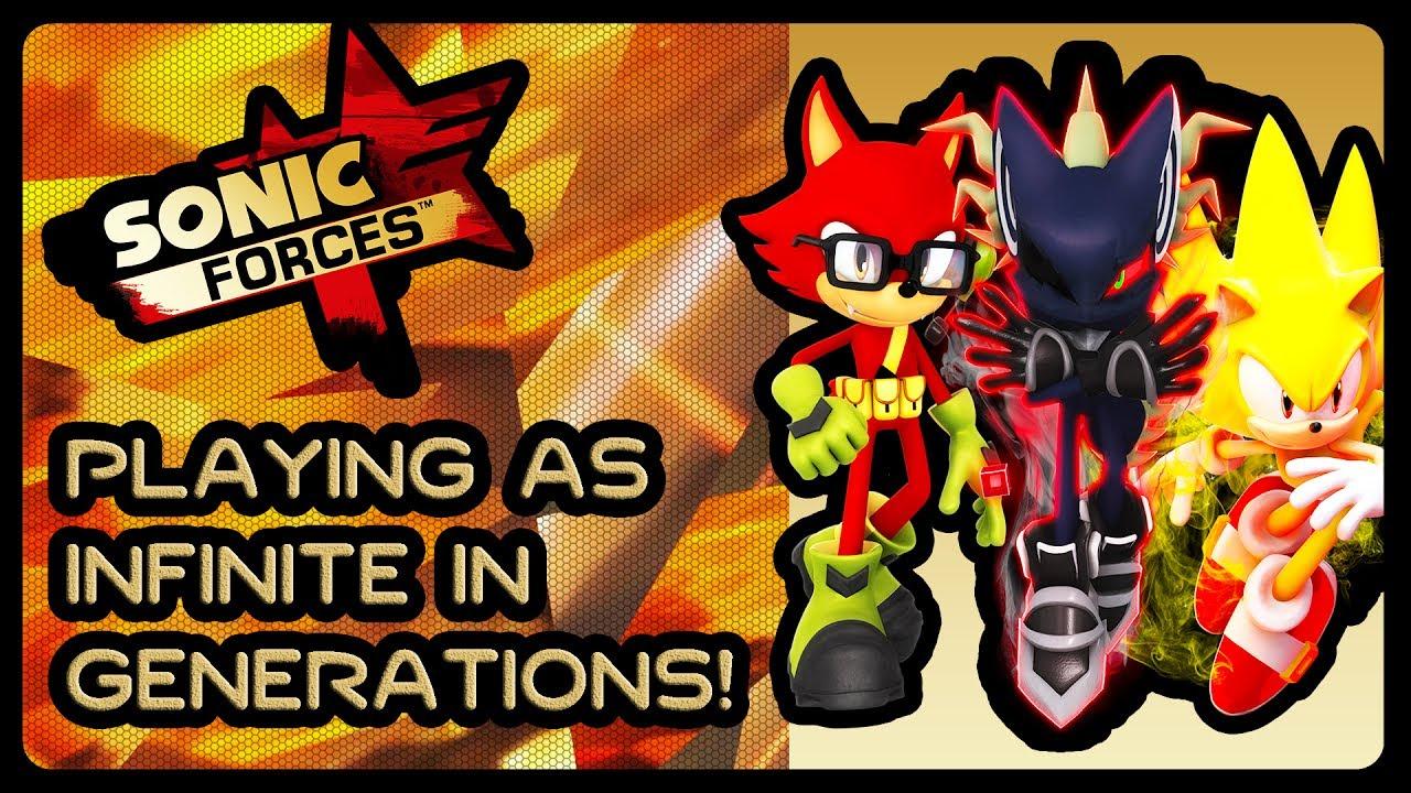 Sonic Generations Infinite Rings Mod
