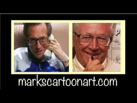 """PEANUTS"" CARTOONIST CHARLES SCHULZ ON THE LARRY KING RADIO SHOW"