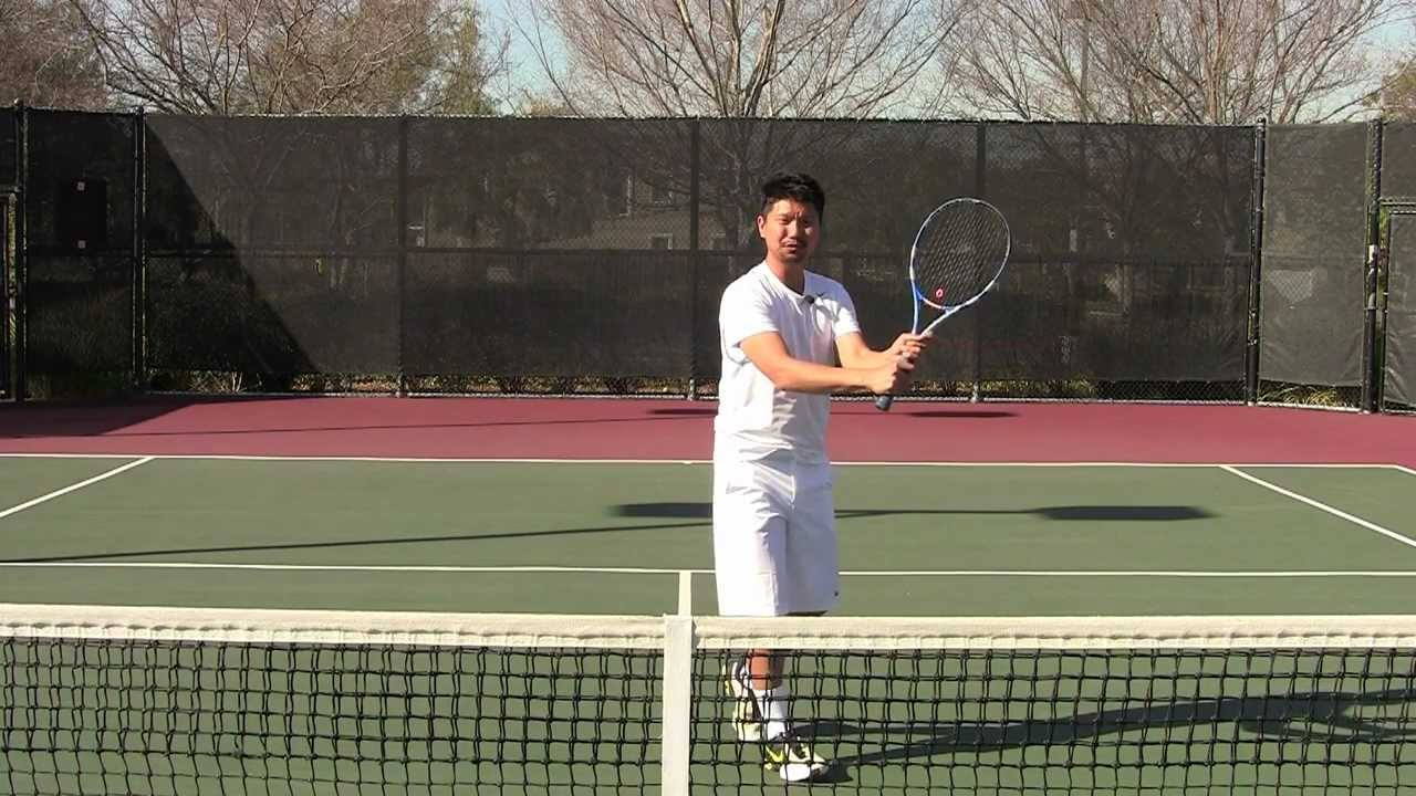Tennis For Beginners >> Tennis Lesson For Beginners Basic Strokes Part 4 Of 5