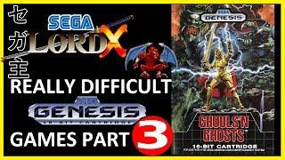 Really Difficult Sega Genesis Games - Part 3