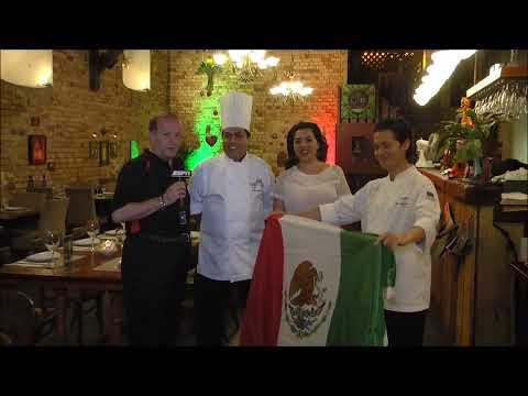 ESPN America transmited from Besos Latinos Restaurante for the All Whites Vs Mexico