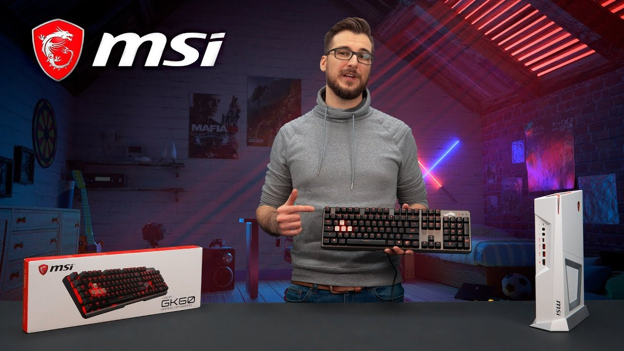 Quick switching with the Vigor GK60 Mechanical Gaming Keyboard | Gaming Gear | MSI