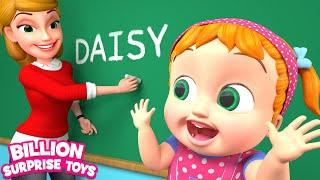 Self Introduction Song | Educational | BillionSurpriseToys - Nursery Rhymes & Kids Songs