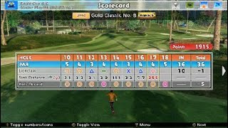 Everybody's Golf my first hole in one