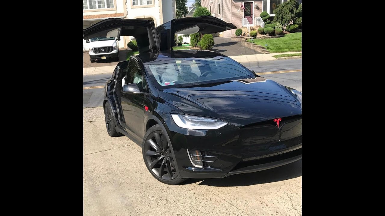 Chrome Delete On A Tesla Model X