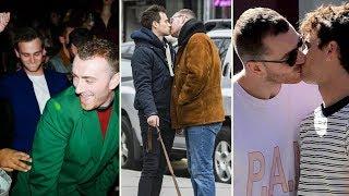 Video Sam Smith and Boyfriend Brandon Flynn - 2018 download MP3, 3GP, MP4, WEBM, AVI, FLV Oktober 2018