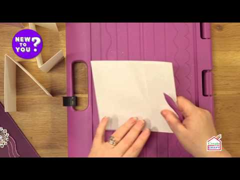 Making Different Card Folds Using a Score board with Leann Chivers | New To You
