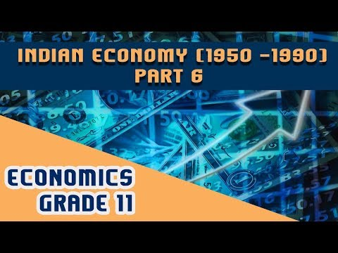 Economics Chapter 2 | Part 6 | Indian Economy (1950 -1990)