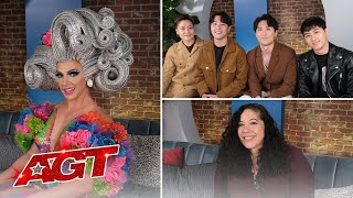Korean Soul, Beyond Belief Dance Company, and Gina Brillon React to AGT - America's Got Talent 2021