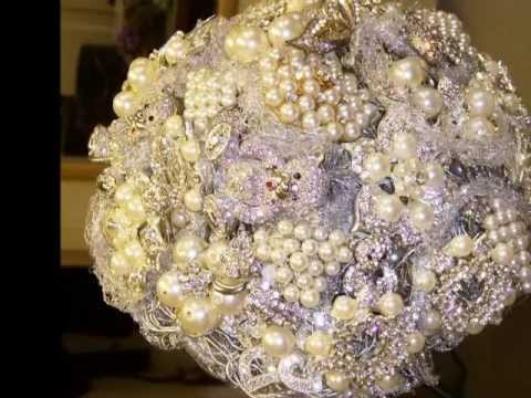 How you can learn to make a Brooch Bouquet Easily - YouTube