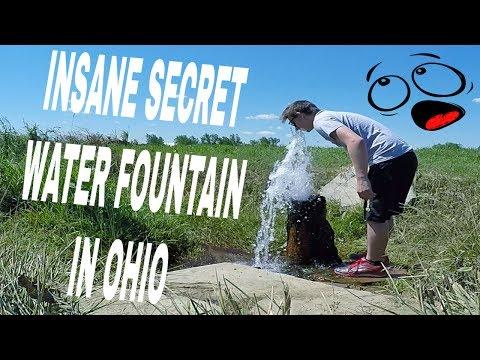 INSANE SECRET WATER FOUNTAIN IN OHIO
