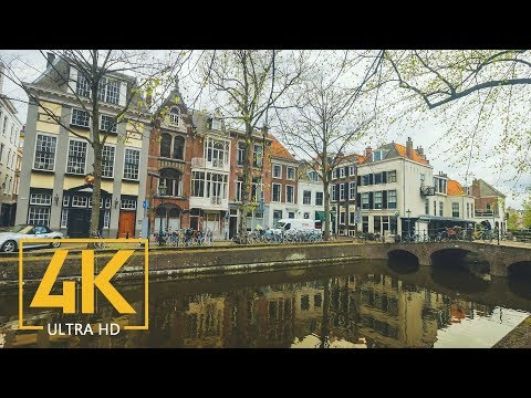 4K City Life of Hague, Netherlands - Urban Documentary Film - Cities of the World
