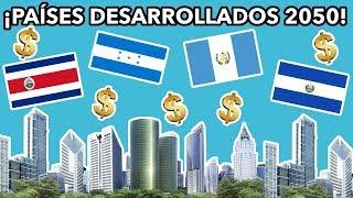 PAÍSES MÁS RICOS DE CENTROAMÉRICA 2050 (PIB PER CÁPITA PPA)