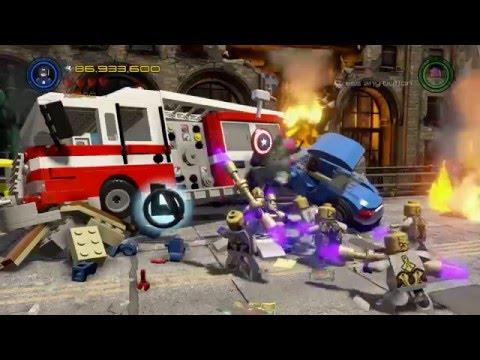 LEGO Marvel's Avengers 100% Guide Avengers Assemble (All Minikits, Character tokens)