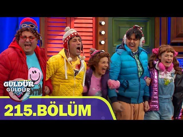 Güldür Güldür Show 215.Bölüm (Tek Parça Full HD)