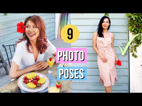 How To Pose Like A Model! 9 Photography Tricks And Hacks!
