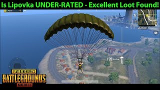 Is Lipovka UNDER-RATED? - Excellent Loot Found on Erangel! | PUBG Mobile Lightspeed