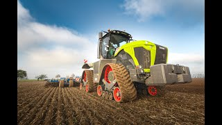 NEW // Claas Xerion 5000 Trac TS // Köckerling Vector 800