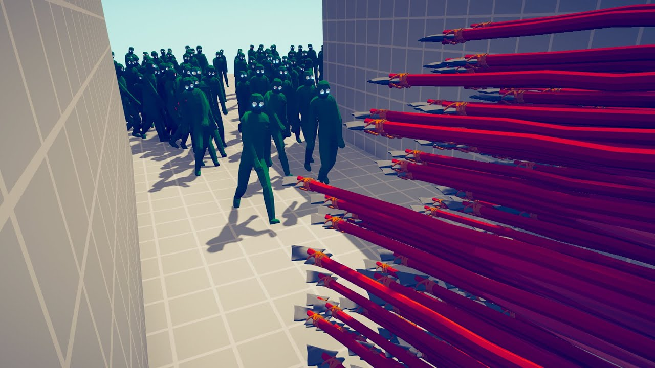 100x ZOMBIE vs EVERY GOD in CORRIDOR ► Totally Accurate Battle Simulator TABS