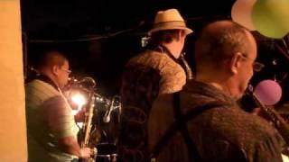 New Orleans Sax Quartet - Tango - Satchmo Summerfest 2010