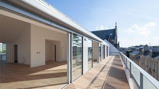 A Nantes à vendre Superbe appartement, seul au dernier étage d'une résidence de prestige