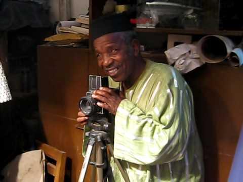 Malick Sidibe taking a photo of my late friend Claudia