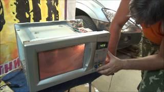 Ремонт микроволновой печи Daewoo своими руками.ремонт сенсерной панели