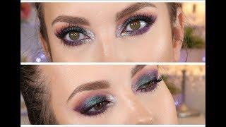 CHAT MAKEUP kolorowe, wielo-wymiarowe SMOKY EYES - makijaż z multichromem chrabąszcz