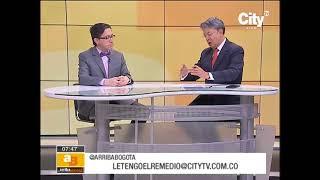 Dr. Jimmy Castañeda - Arriba Bogotá (Canal CityTV)