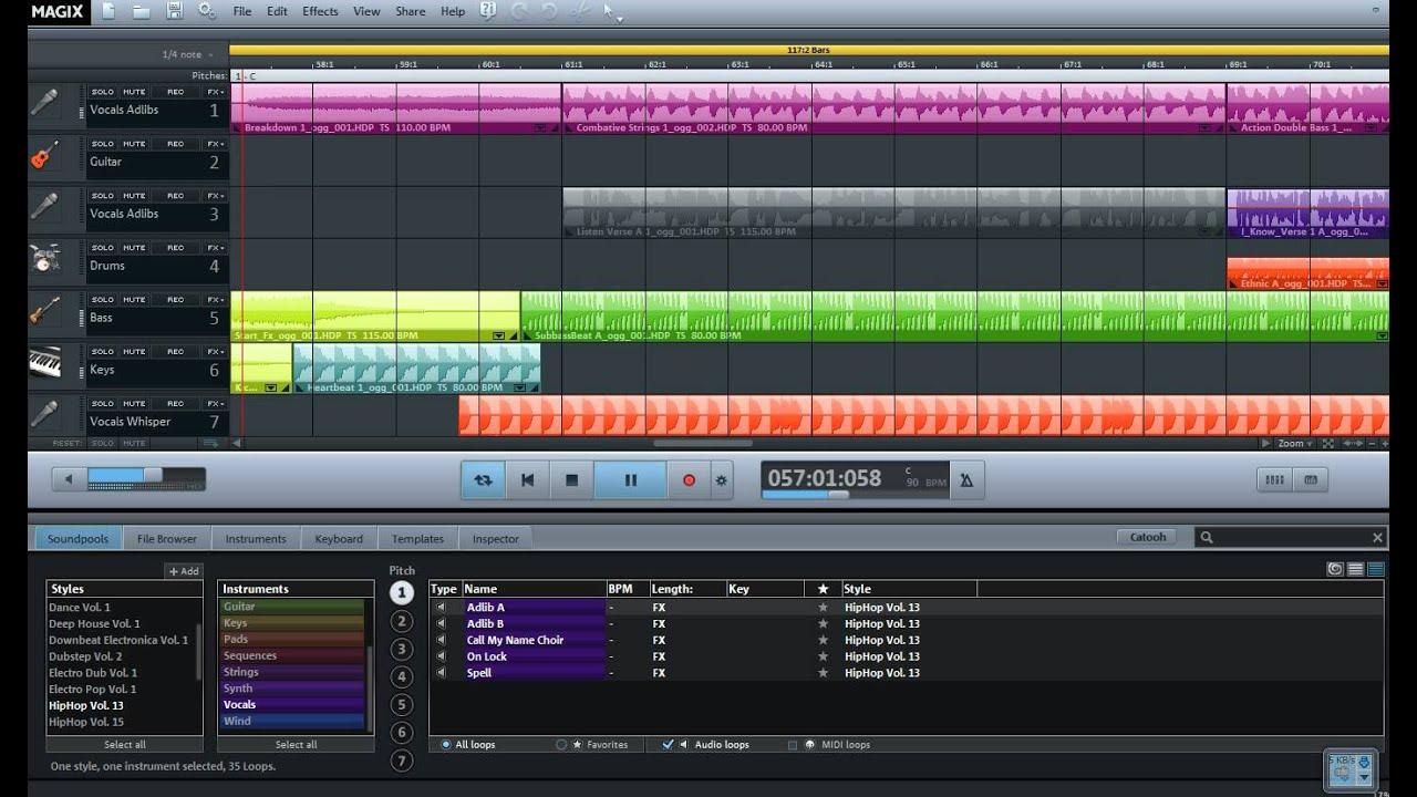 программа для создания музыки на пк скачать бесплатно