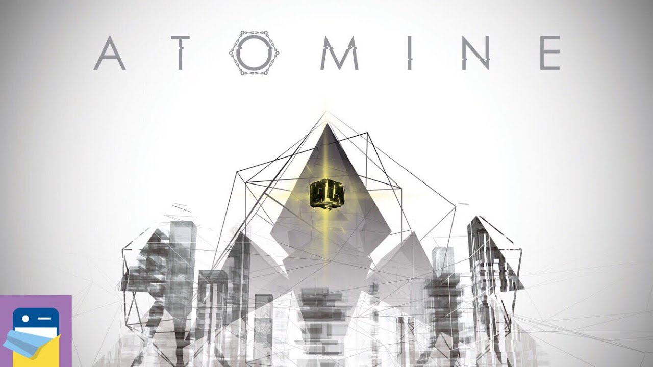 ATOMINE: iOS iPhone Gameplay (by Broken Arms Games)