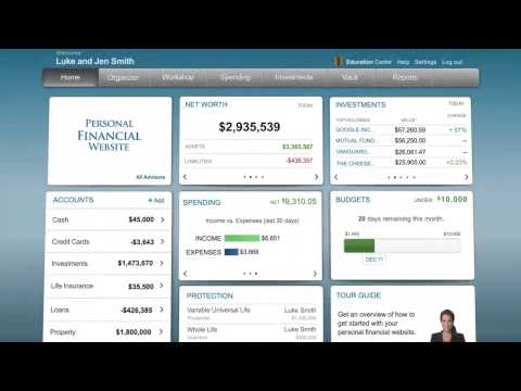 Wealth management technology designed for the financial planning process.