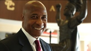 USC Athletic Director Lynn Swann emphasizes focus on student-athletes in his administration