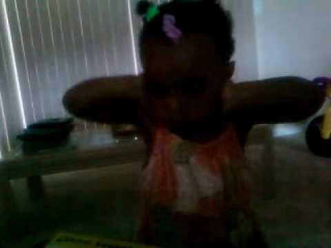 baby doing the Flex