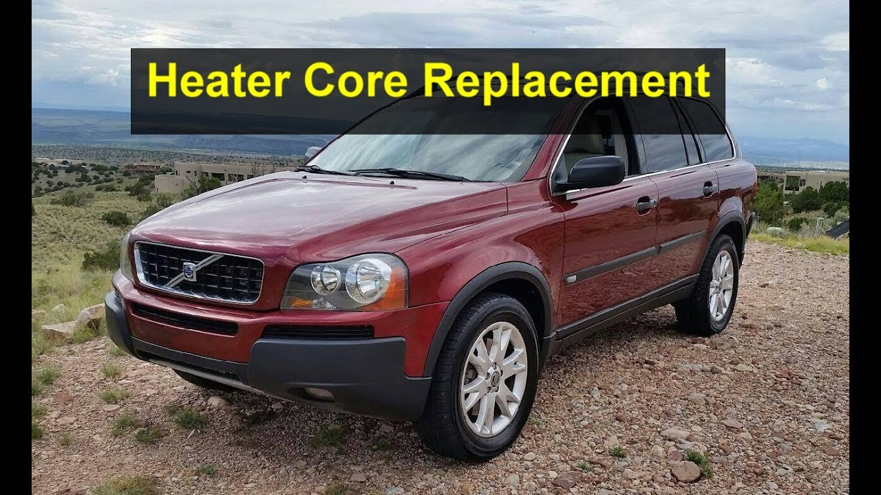 Heater core replacement on a Volvo XC90 P2 chasis  - VOTD