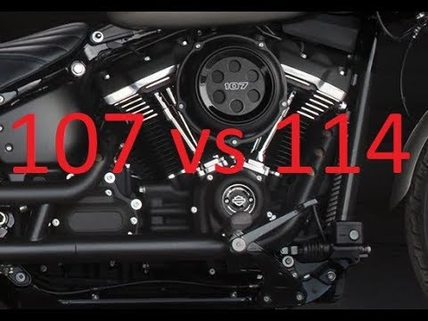 107 vs 114 What's the Difference? Harley Milwaukee-Eight engines compared