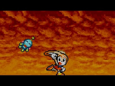 Sonic Advance 2 - Part 2 - Hot Crater Zone - Egg Bomber Tank - Special Stage 2