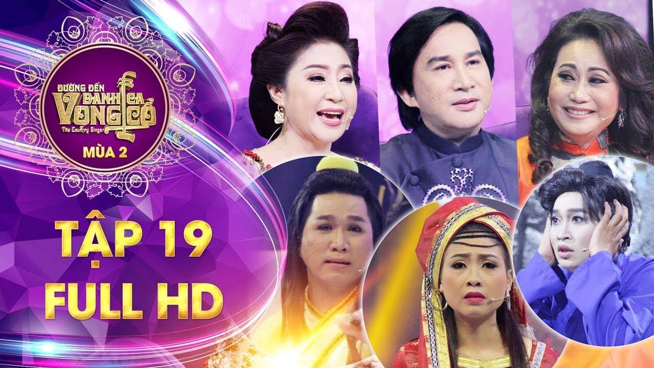 Đường đến danh ca vọng cổ 2| tập 19 full: HLV Kim Tử Long ngỡ ngàng khi Hà  My rút khỏi chương trình
