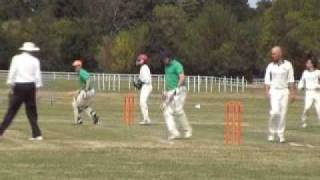 French Cricket  at Nantes CC  Vertou racecourse
