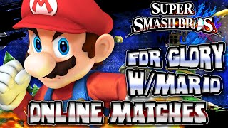 Super Smash Bros Wii U - (1080p 60FPS) For Glory w/Mario Online Matches